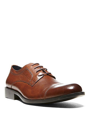 STEVE MADDEN Minted Leather Oxfords