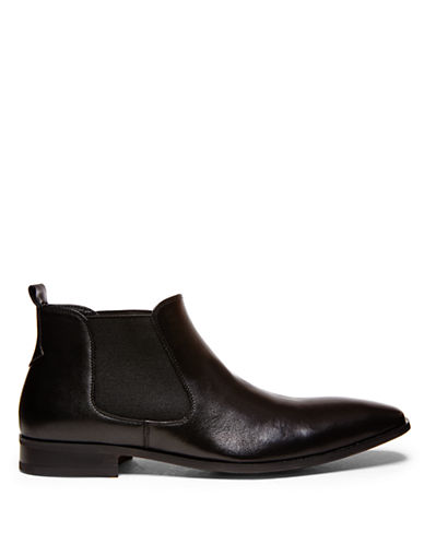 STEVE MADDENBennyy Leather Ankle Boots