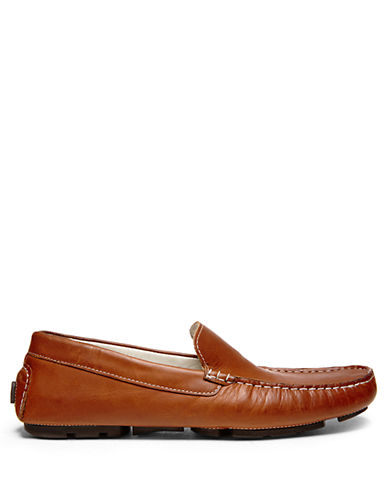 STEVE MADDENApaullo Leather Loafers