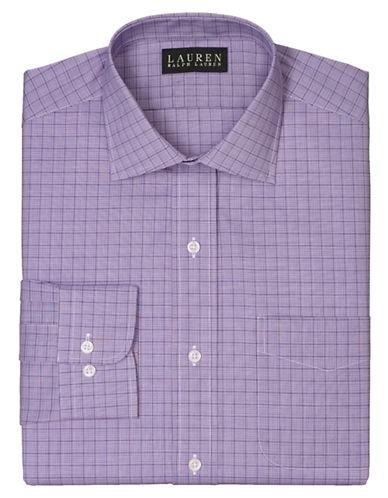LAUREN RALPH LAURENSlim Glen Plaid Warren Dress Shirt