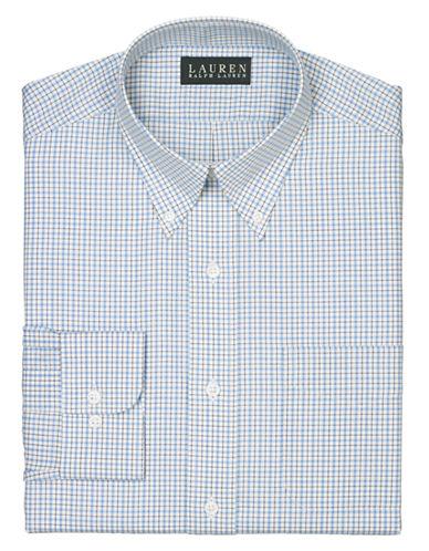 LAUREN RALPH LAURENRegular Fit Tattersall Dress Shirt