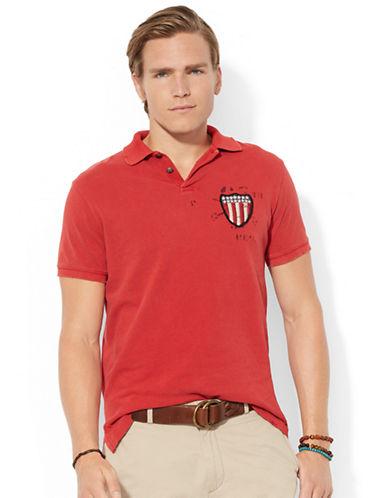 POLO RALPH LAURENCustom Fit Eagle Polo Shirt