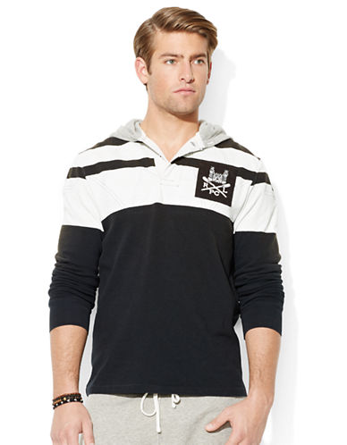 POLO RALPH LAUREN Striped Rugby Hoodie