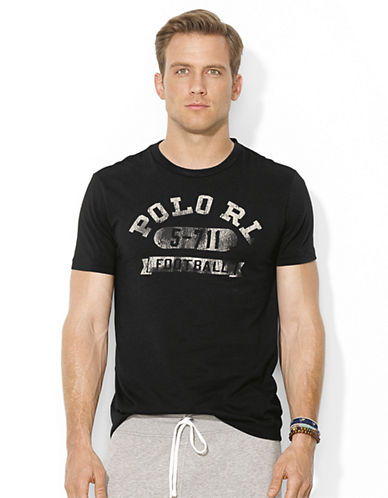 POLO RALPH LAUREN Football Crewneck T-Shirt