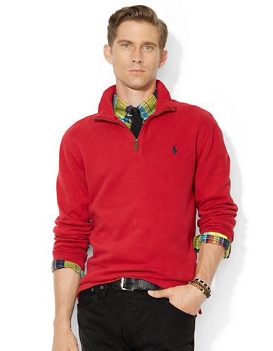 Pullover Rib Upc Zip Polo Half Lauren French 888529208783 Ralph EHWY9ID2