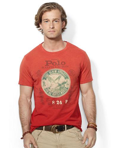 POLO RALPH LAURENCustom Fit Graphic T Shirt