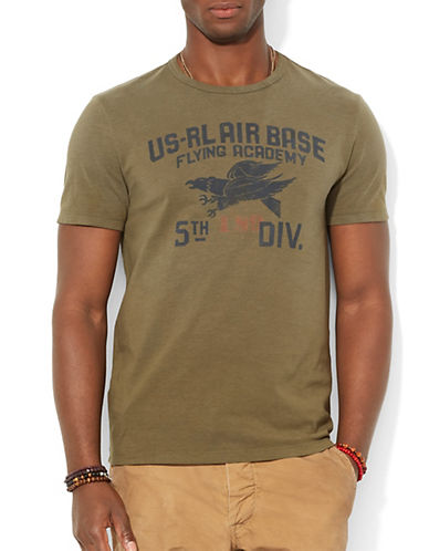 POLO RALPH LAUREN Custom Fit Flying Academy T Shirt