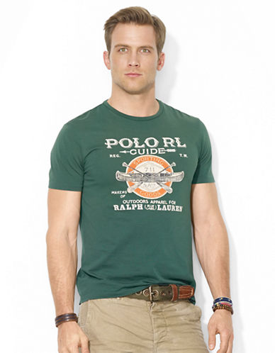 POLO RALPH LAUREN Polo Guide Crewneck T-Shirt