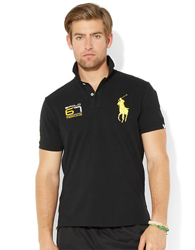 POLO RALPH LAUREN Performance Big Pony Polo Shirt