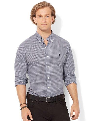 POLO RALPH LAUREN Buffalo Check Poplin Shirt