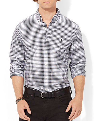 POLO RALPH LAUREN Checked Poplin Shirt