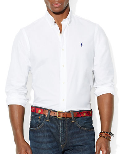 POLO RALPH LAUREN End On End Poplin Shirt