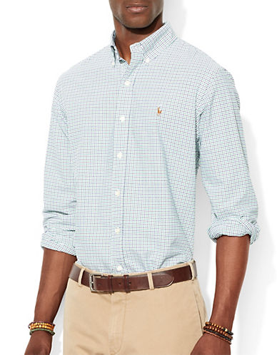 POLO RALPH LAUREN Classic-Fit Checked Oxford Shirt