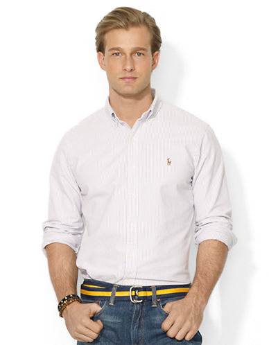 POLO RALPH LAUREN Classic-Fit Striped Oxford Shirt