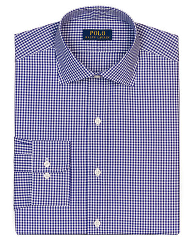 POLO RALPH LAUREN Regular Fit Checked Regent Dress Shirt