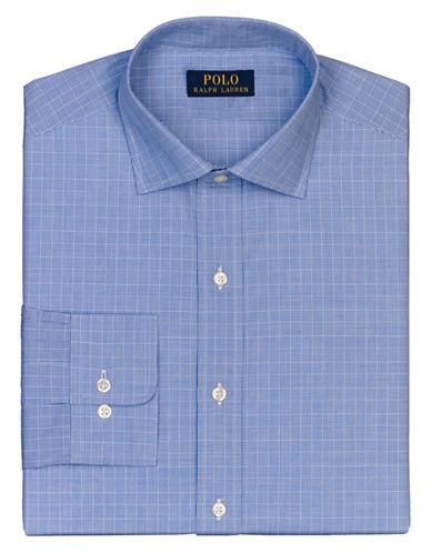 POLO RALPH LAURENRegular Fit Glen Plaid Regent Dress Shirt