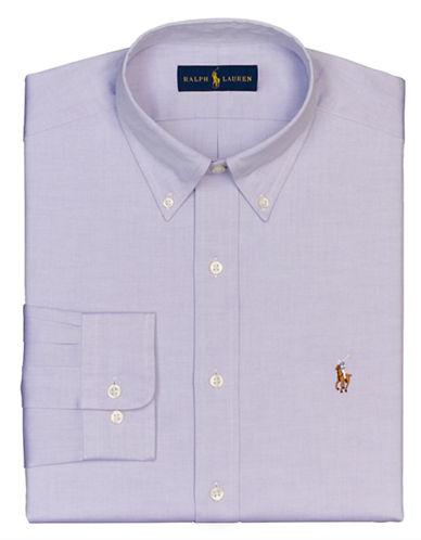 POLO RALPH LAURENRegular Fit Pinpoint Oxford Dress Shirt