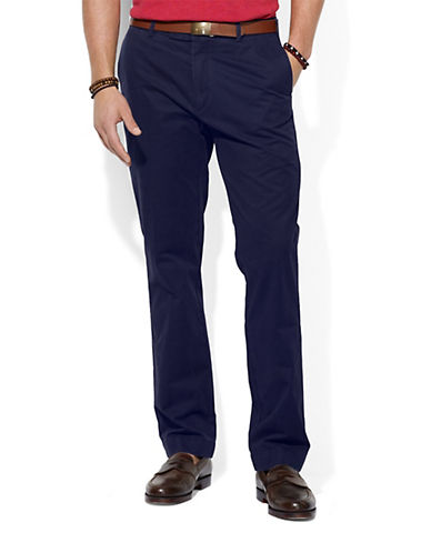 POLO RALPH LAUREN Straight-Fit Hudson Chino Pants