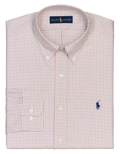 POLO RALPH LAUREN Regular-Fit Tattersall Dress Shirt