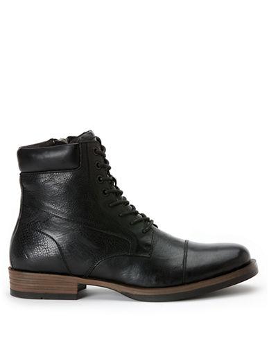 CALVIN KLEINRadman Leather Ankle Boots
