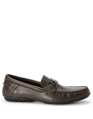 CALVIN KLEINWallace Leather Driving Moccasins