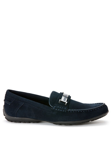 CALVIN KLEINWallace Suede Driving Moccasins