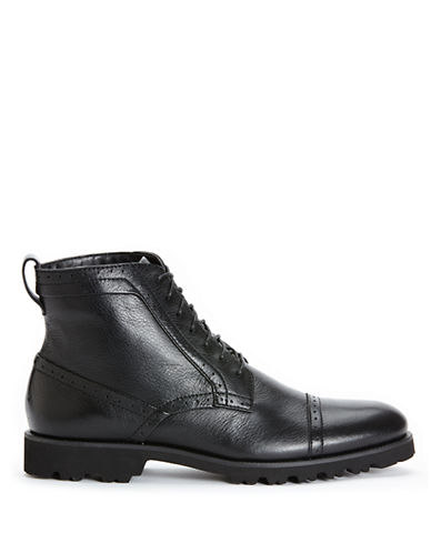 CALVIN KLEINLevin Leather Ankle Boots