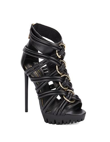 RACHEL ZOEHarlin Leather Platform Stiletto Sandals
