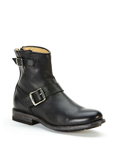 Buy Tyler Engineer Short Leather Boots by Frye online