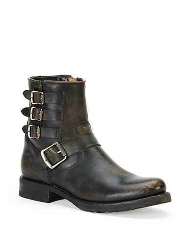 FRYEVeronica Distressed Leather Ankle Boots