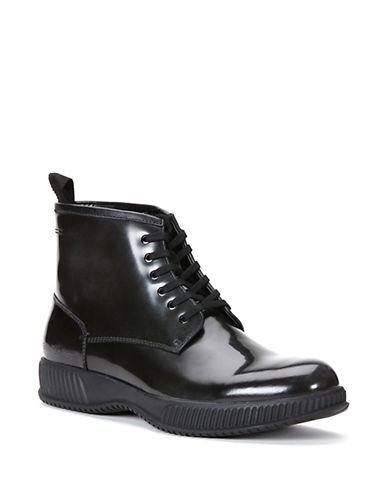 CALVIN KLEINHunt Patent Leather Boots