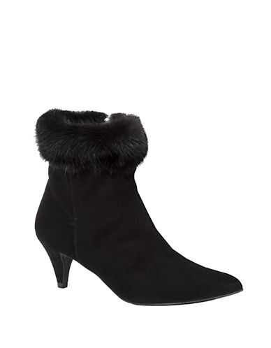 AQUATALIASalley Faux Fur-Accented Suede Boots