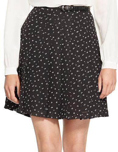 LAUREN RALPH LAURENPleated Print Skirt
