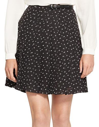 LAUREN RALPH LAURENPetite Pleated Print Skirt