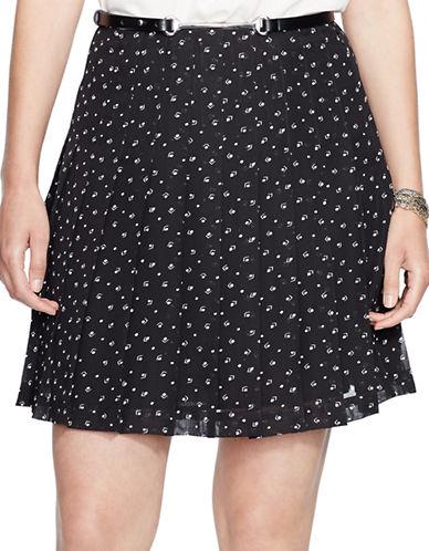 LAUREN RALPH LAURENPlus Printed Pleated Skirt