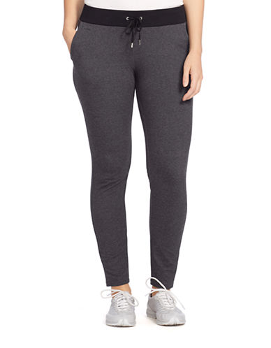 LAUREN RALPH LAUREN Plus Wool and Cashmere Straight-Leg Pants