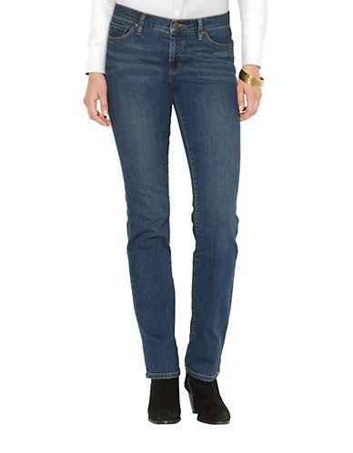 LAUREN RALPH LAURENPetite Super Stretch Slimming Classic Straight Jean