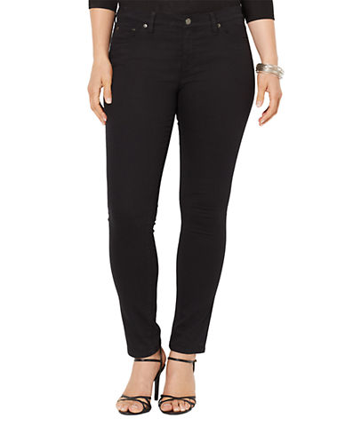 LAUREN RALPH LAURENPlus Super Stretch Slimming Modern Skinny Jeans
