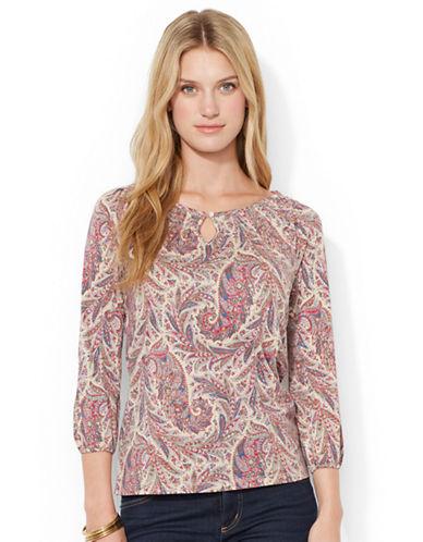 LAUREN RALPH LAURENPaisley Cotton Shirt