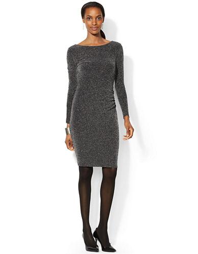 LAUREN RALPH LAURENPetite Metallic Knit Dress