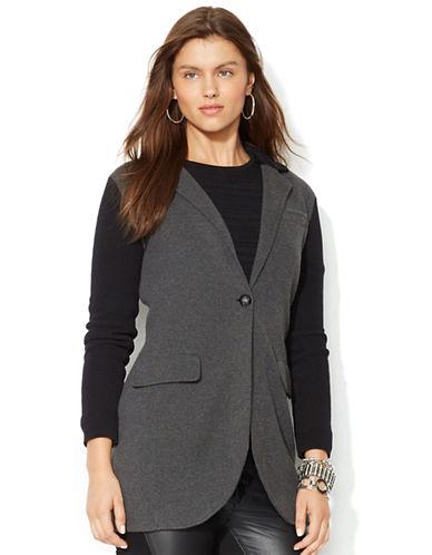 LAUREN RALPH LAURENPetite Color Blocked Sweater Coat