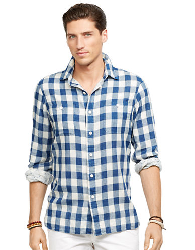 POLO RALPH LAUREN Double-Faced Gauze Shirt