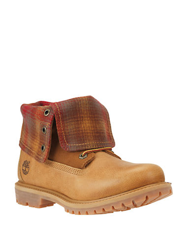 Buy Authentics Fleece Roll-Cuff Boots by Timberland online