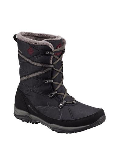 COLUMBIAMinx Fire Tall Omni-Heat Faux Fur-Trimmed Boots