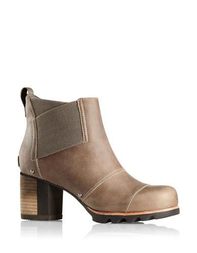 Buy Addington Chelsea Waterproof Leather Booties by Sorel online