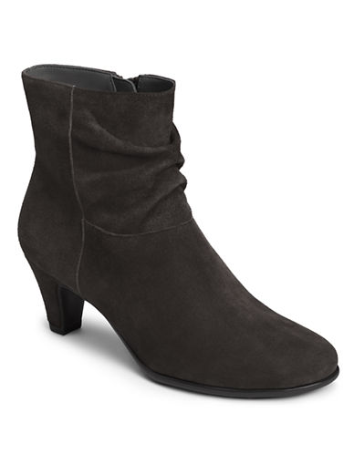 AEROSOLES Red Light Slouchy Ankle Boots