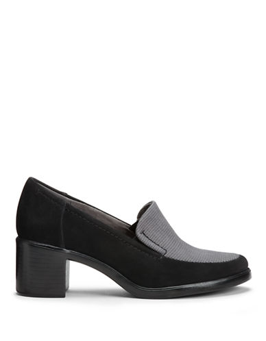 AEROSOLESHeartthrob Leather Heeled Loafers