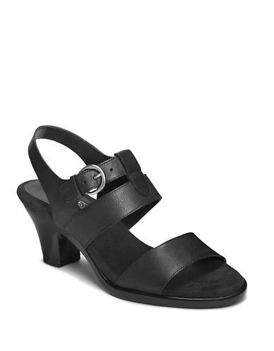 AEROSOLESCultured High-Heel Leather Sandals