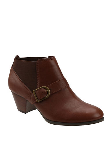BASS Paloma Leather Ankle Boots