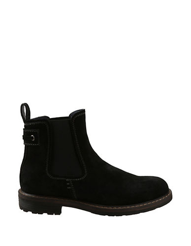 BASS Redstone Suede Double Gore Ankle Boots